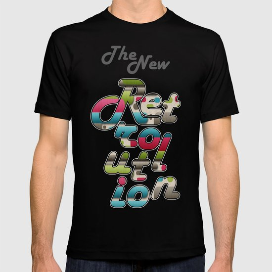 The New Retrolution. T-shirt