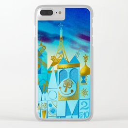 It's a Small World Clear iPhone Case