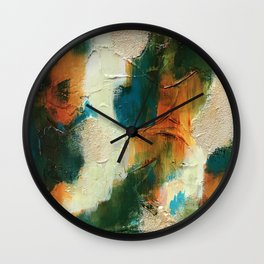Attend to the Divine 1 Wall Clock
