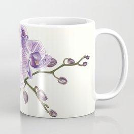 Purple phalaenopsis artwork Coffee Mug
