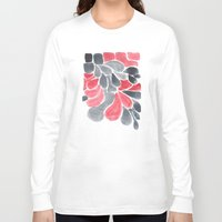 watercolour Long Sleeve T-shirts featuring Watercolour Experimenting.  by Elena O'Neill