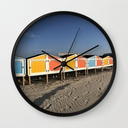 Bath House, New Jersey Wall Clock