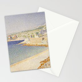 The Jetty at Cassis, Opus 198 Stationery Cards