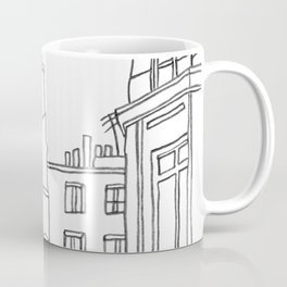 Paris Poetic Buildings Coffee Mug
