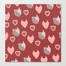 An Ardent Heart Canvas Print