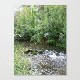 Weser Water Canvas Print
