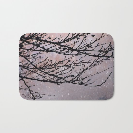 Dusky Winter Days Bath Mat