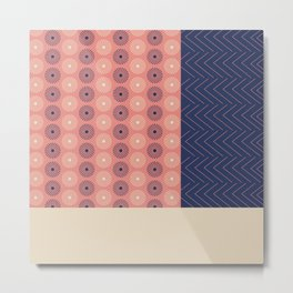 AFE Geometric Abstract Metal Print