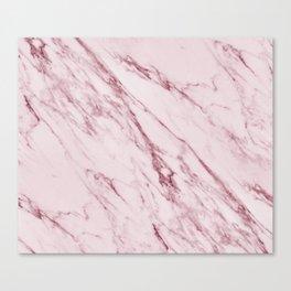 Cremona Rosa - pink marble Canvas Print
