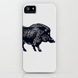 The Majestic Hog iPhone Case