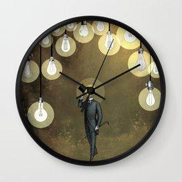 Enlightened World Wall Clock