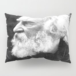 Julia Margaret Cameron - Portrait of Longfellow Pillow Sham