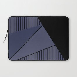 An abstract geometric pattern . Night Laptop Sleeve