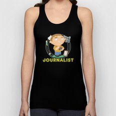 Journalist Unisex Tank Top