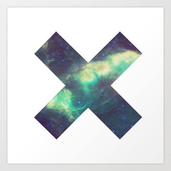 XX Space  Art Print