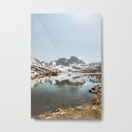 Earth 9 Metal Print