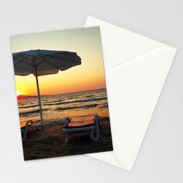 sea sunrise Stationery Cards