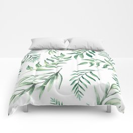 Floating Leaves #society6 #buyart Comforters