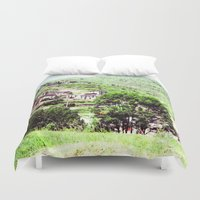 spain Duvet Covers featuring spain by Natalee