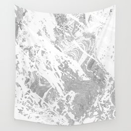 Scratched Marble Wall Tapestry
