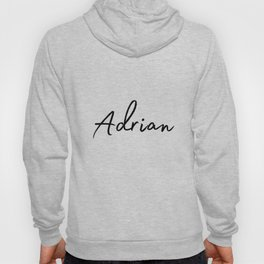 Adrian Calligraphy Hoody