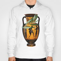 greek Hoodies featuring Ancient Greek by Fifikoussout