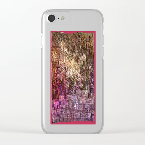 Raining Heavily / Autumn 27-10-16 Clear iPhone Case