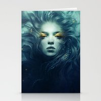 grand theft auto Stationery Cards featuring Ink by Anna Dittmann