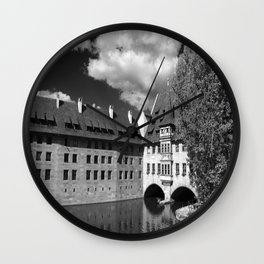 Old Architecture  Nuremberg Wall Clock
