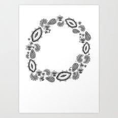 Inner circle Art Print
