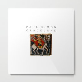 Paul Simon Metal Print