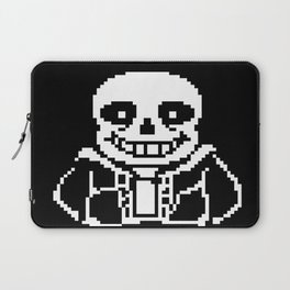 Sans - Bad Time Laptop Sleeve