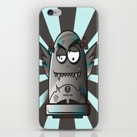 the fault iPhone & iPod Skins featuring Fault 45 03 (its not his fault) by Face Leakage