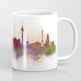Berlin City Skyline HQ1 Coffee Mug
