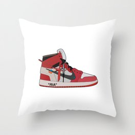 Jordan 1 - OFFWHITE Throw Pillow