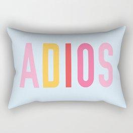Adios Rectangular Pillow
