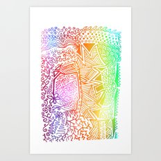 Doodle! Art Print