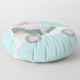 Ice Cream Truck Floor Pillow