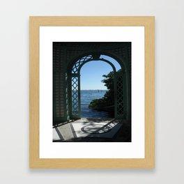 From Vizcaya Framed Art Print