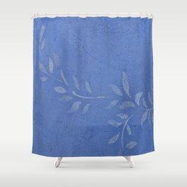 Blue Ivy Vine - Pretty - Rustic - Floral - Corbin Henry Shower Curtain