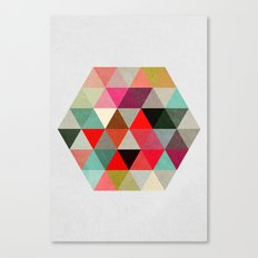 Geo Hex 03. Canvas Print