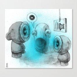 Embrace Dubs  Canvas Print