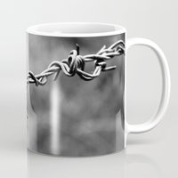 the wire Mugs featuring wire by blas.phgrafik