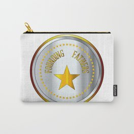Founding Fathers Gold And Silver Metal Stamp Carry-All Pouch