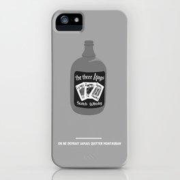 ON NE DEVRAIT JAMAIS QUITTER MONTAUBAN (Les Tontons flingueurs) iPhone Case