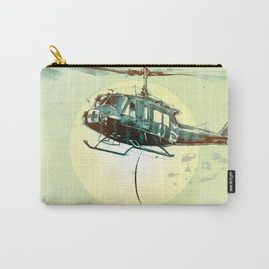 """Glue Network Print Series """"Emergency Relief"""" Carry-All Pouch"""