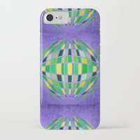 globe iPhone & iPod Cases featuring globe by Katilinova