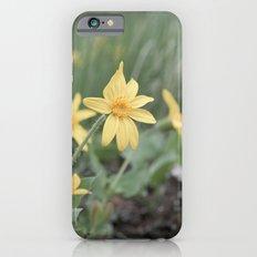 Mountain flowers Slim Case iPhone 6s