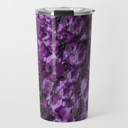 AMETHYST MINE CRYSTAL NODULE Travel Mug