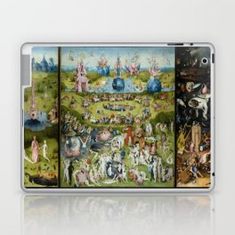The Garden of Earthly Delights by Hieronymus Bosch (1490-1510) Laptop & iPad Skin